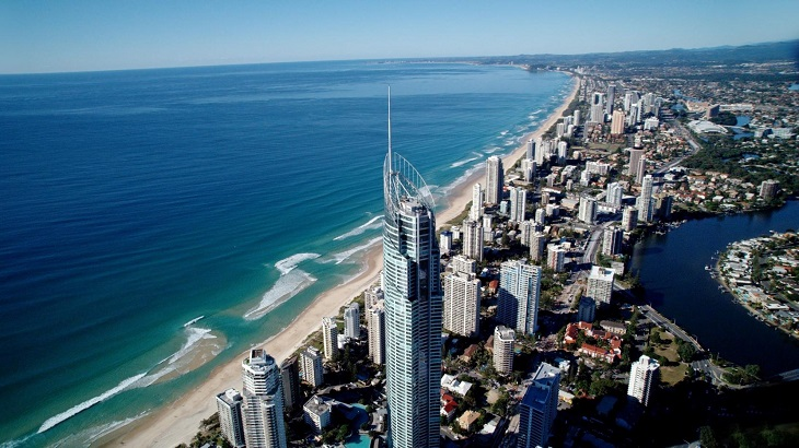 Bollards have been installed at popular tourist destinations on Gold Coast.