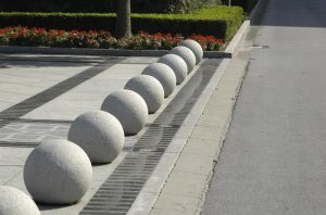 These spherical VBIED bollards are tougher than they look. Perfect for vehicle borne threats and VBIED attacks.