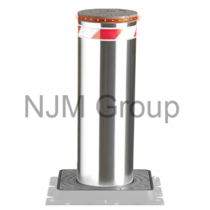 Hydraulic VBIED Stainless Steel Bollard 600x220mm