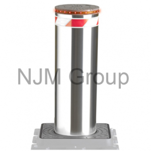 Hydraulic VBIED Stainless Steel Bollard 600x275mm