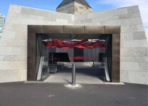 Shrine of Remembrance has VBIED bollards made by VBIEDbollards.com.au