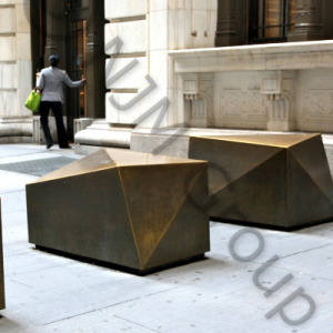 Wall street bollards is a visually appealing Hostile Vehicle Mitigation (HVM) measure.
